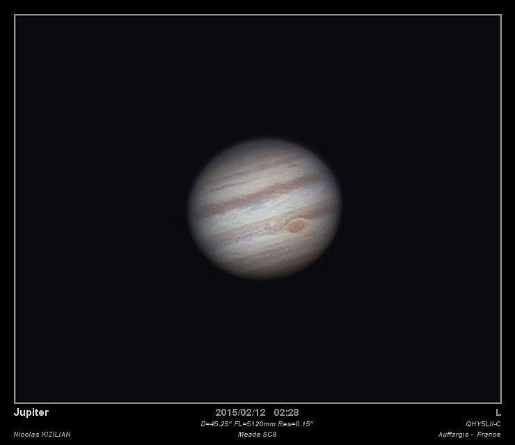 Jupiter, 2012