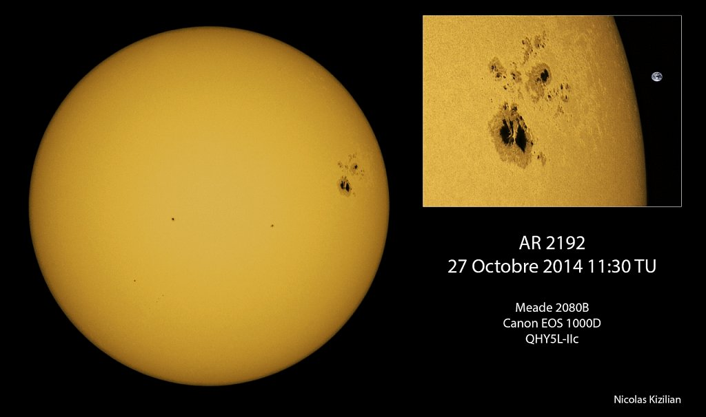 AR 2192 Sunspot