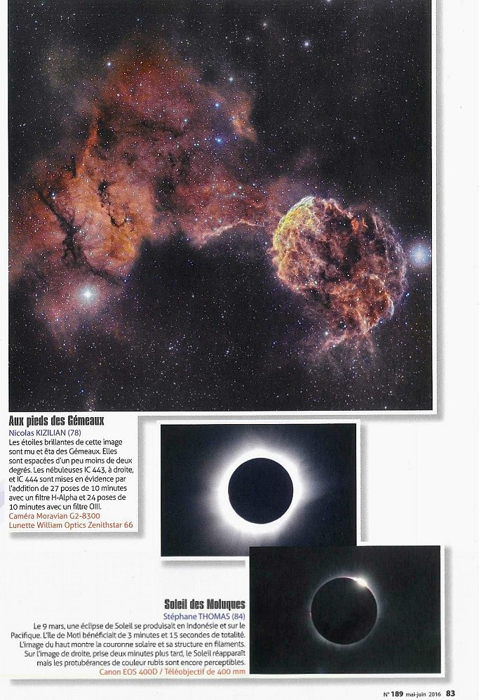 Astronomie Magazine N°189