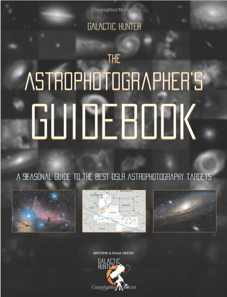 The Astrophotographer's Guidebook, 5 of my images included