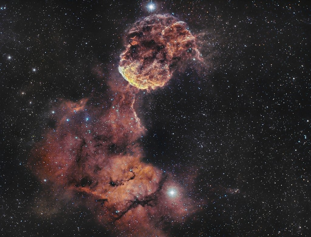 IC 443, the Jellyfish Nebula