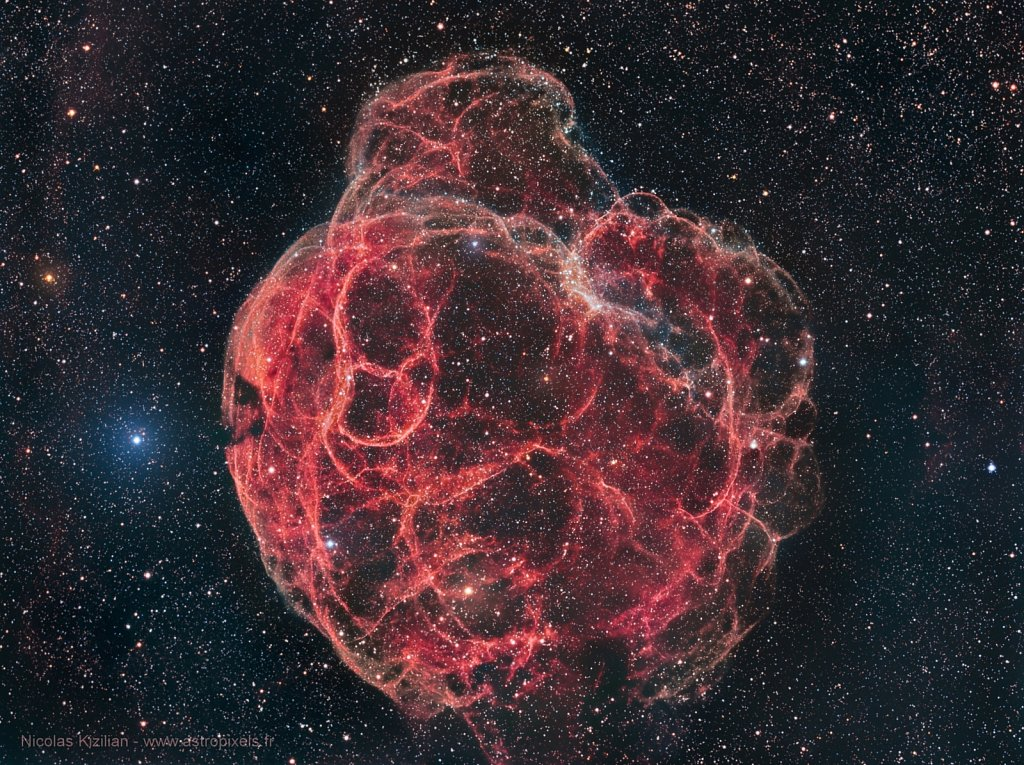 Simeis 147, the Spaghetti Nebula