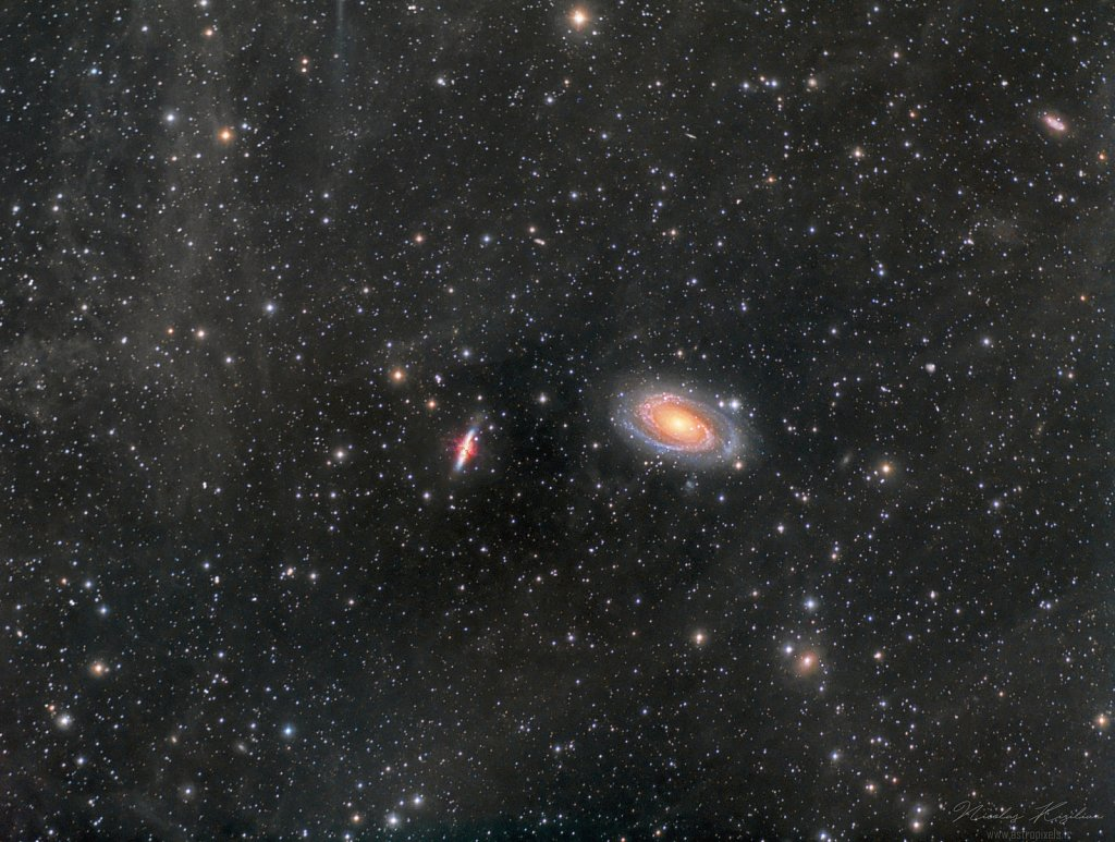 M81, M82 and surrounding IFN
