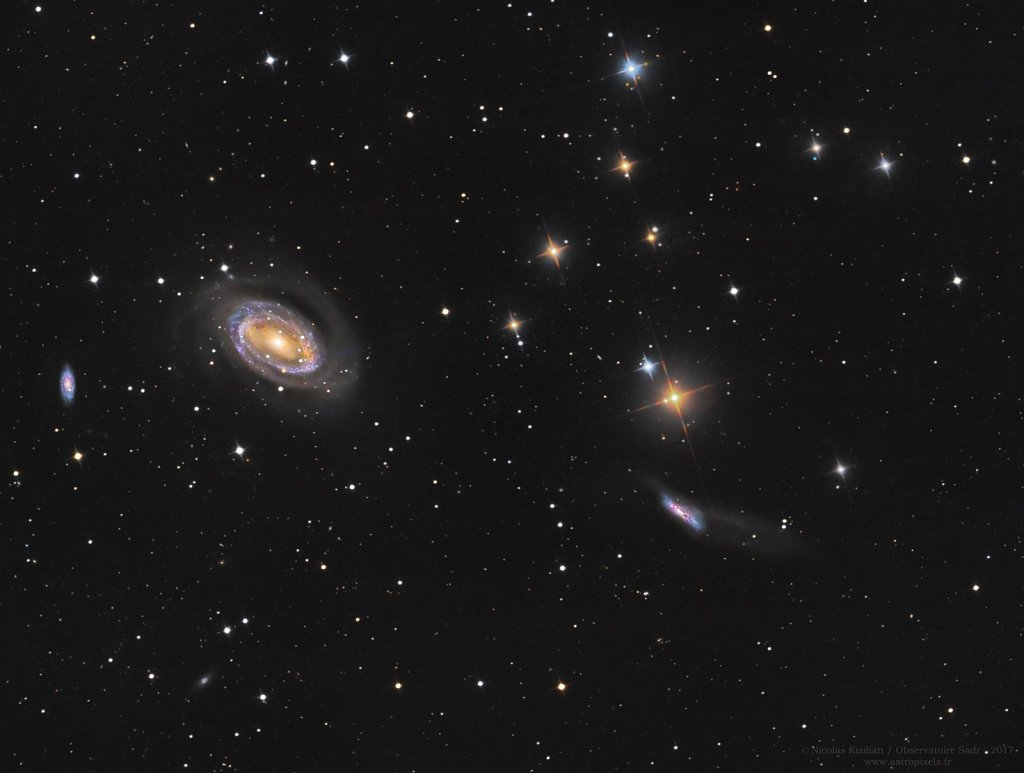 NGC 4725 and friends (with Sadr Observatory)