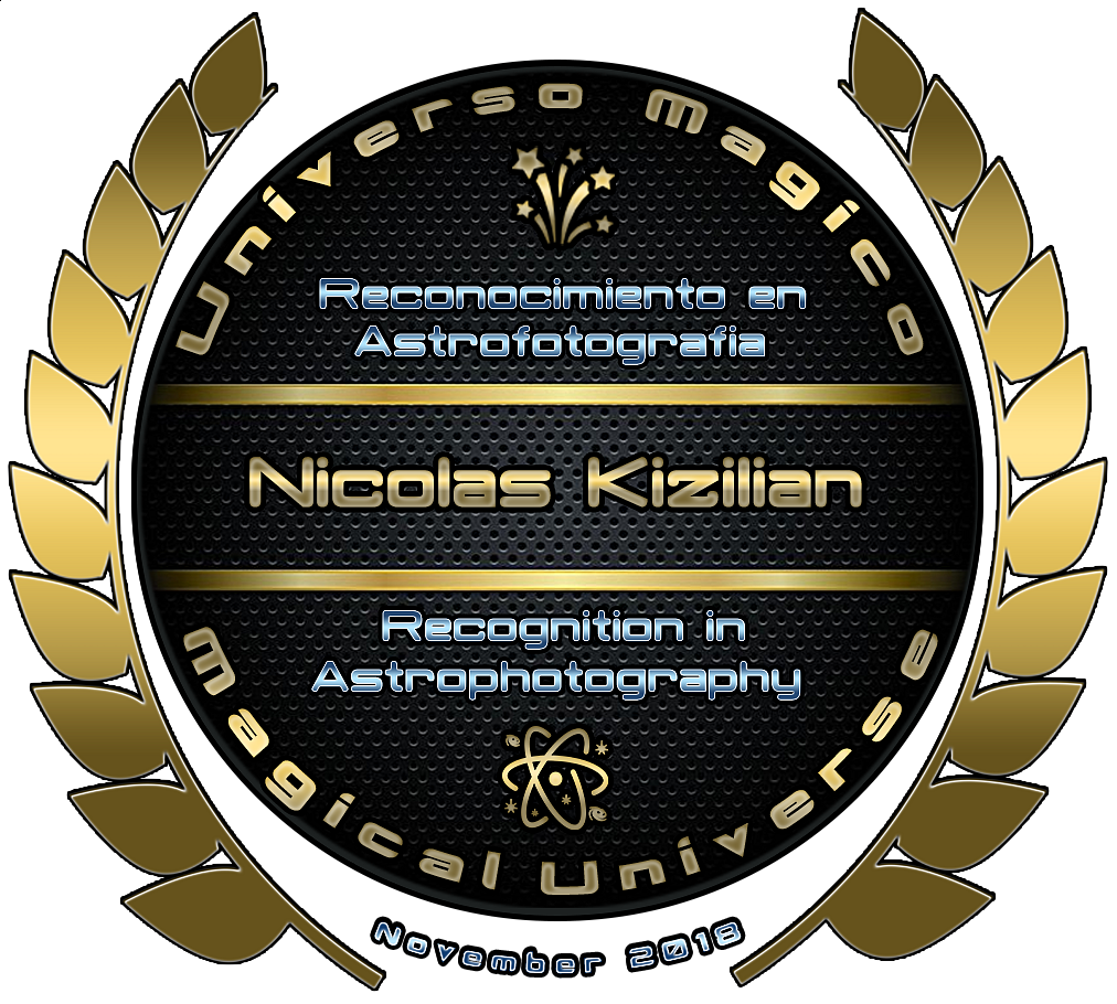 Recognition in Astrophotography - November 2018