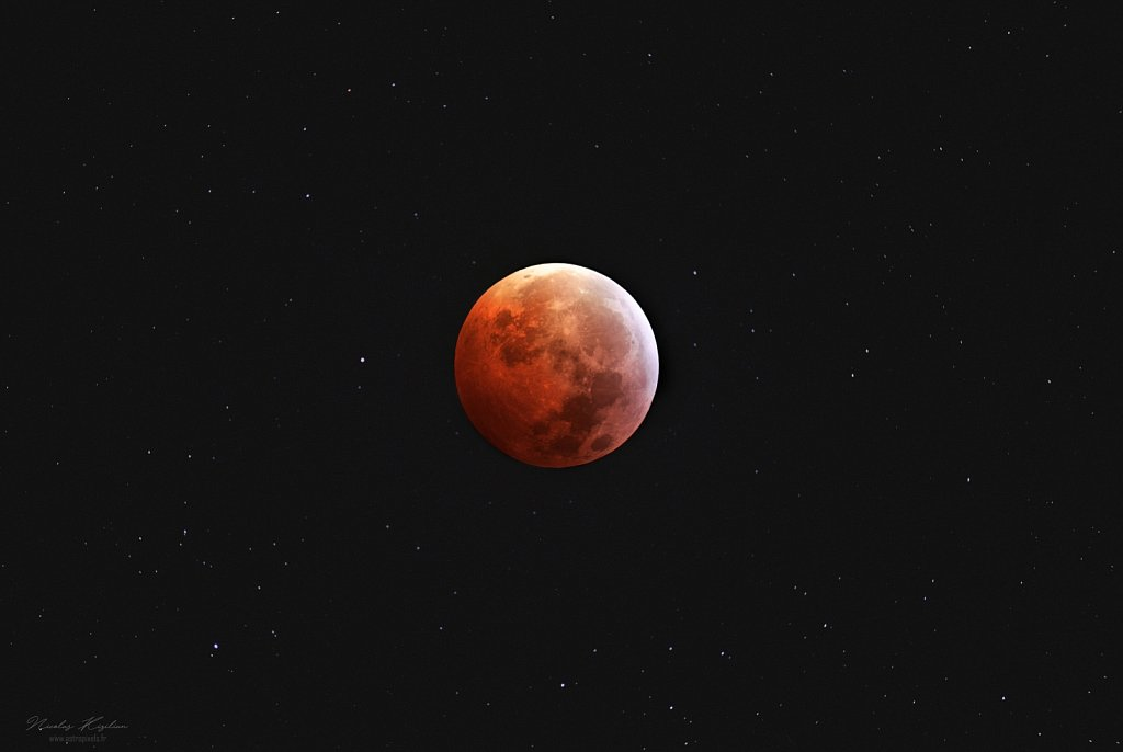 Total Lunar eclipse, 21 January 2019