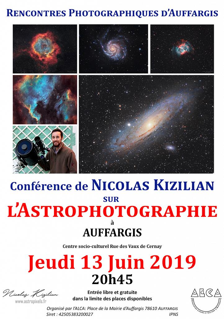 Conference Astrophotographie - Auffargis 13 juin 2019