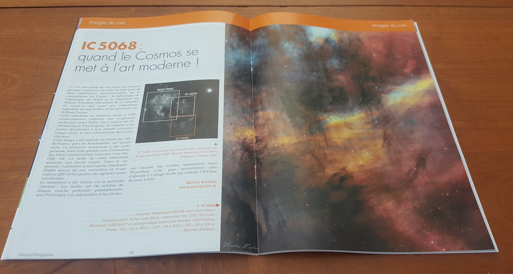 IC5068 featured in Astrosurf Magazine, November 2019
