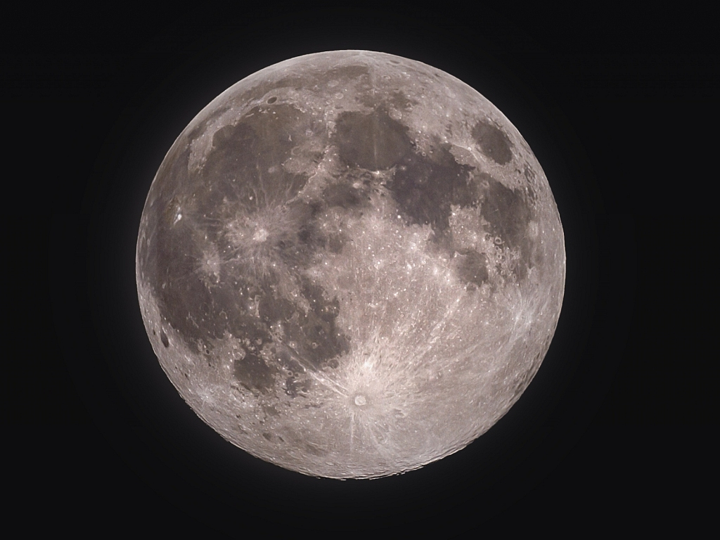 Supermoon on 8th April 2020